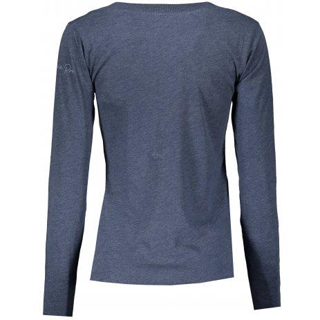 Dámské triko ALPINE PRO CLAUDA LTSS685 TMAVĚ MODRÁ