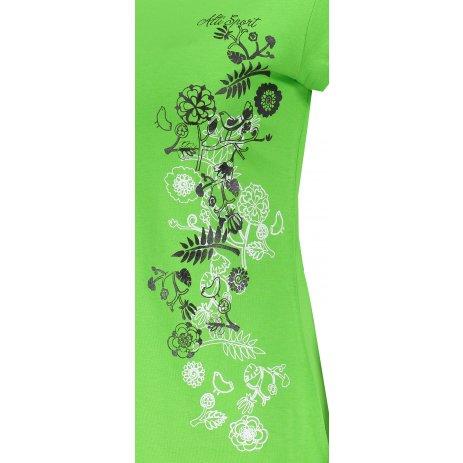 Dámské triko ALTISPORT ALW029122 APPLE GREEN