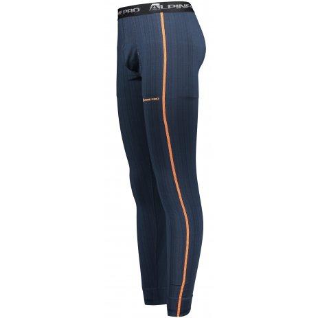 Pánské termo kalhoty ALPINE PRO TETHYS 2 MUNS045 TMAVĚ MODRÁ