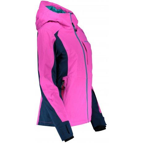 Dámská lyžařská bunda ALPINE PRO MIKAERA 4 LJCS422 RŮŽOVÁ