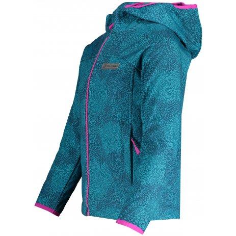 Dívčí softshellová bunda ALPINE PRO NOOTKO 11 KJCS184 MODRÁ