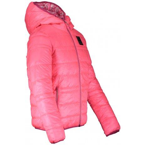 Dětská oboustranná bunda ALPINE PRO IDIKO KJCS182 SVĚTLE RŮŽOVÁ