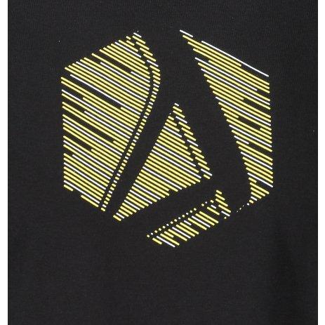 Pánské triko ALTISPORT ALM033129 ČERNOŽLUTÁ
