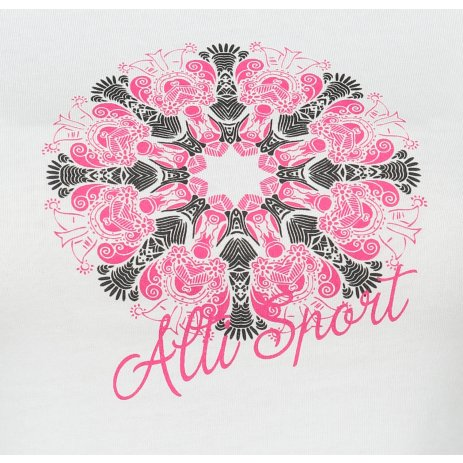 Dámské triko ALTISPORT ALW028122 BÍLORŮŽOVÁ