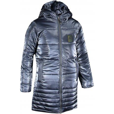 Dívčí zimní kabát ALPINE PRO OMEGO 3 KCTS020 TMAVĚ MODRÁ