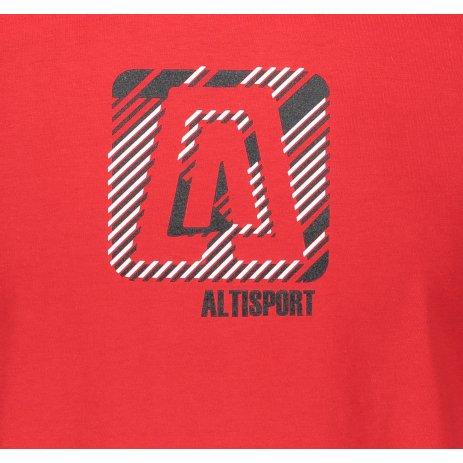 Pánské triko ALTISPORT ALM023F29 ČERVENÁ