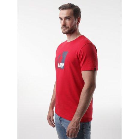 Pánské triko LOAP ALIEN CLM2072 ČERVENÁ
