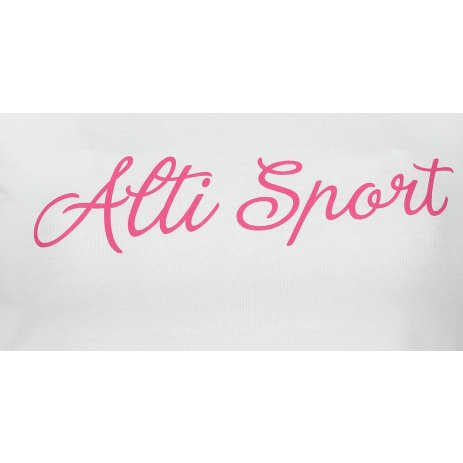 Dámské triko ALTISPORT ALW007122 BÍLÁ