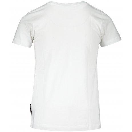 Dětské triko ALPINE PRO BLASO KTSS293 BÍLÁ