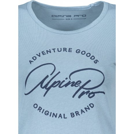 Dámské triko ALPINE PRO DAFKA LTSS688 SVĚTLE MODRÁ