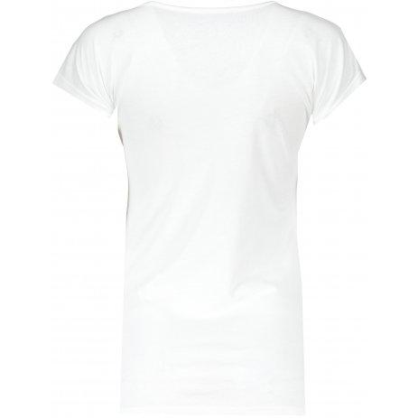 Dámské triko ALPINE PRO DAFKA LTSS688 BÍLÁ