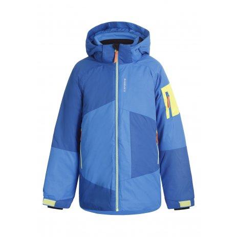 Dětská zimní bunda ICEPEAK LEMPSTER-JR MODRÁ/ČERNÁ