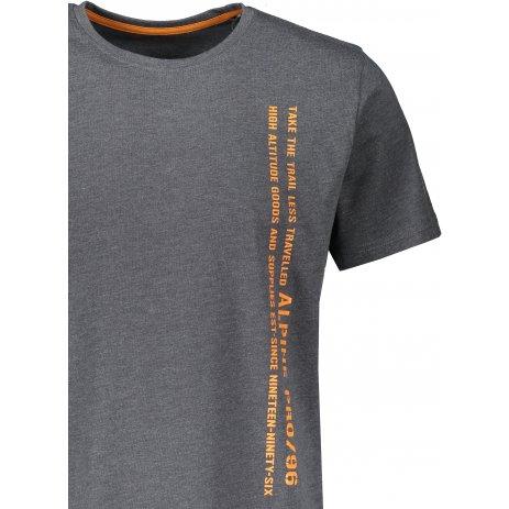 Pánské triko s krátkým rukávem ALPINE PRO BERTOL MTSS529 TMAVĚ ŠEDÁ