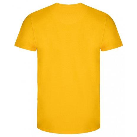 Pánské triko LOAP ALIEN CLM2072 ŽLUTÁ