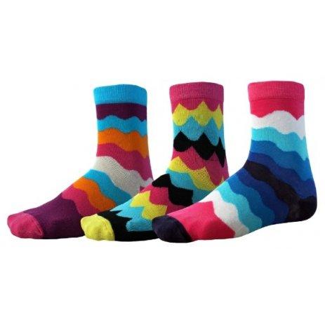 Ponožky SAM 73 ELGIN UP 130 BAREVNÁ