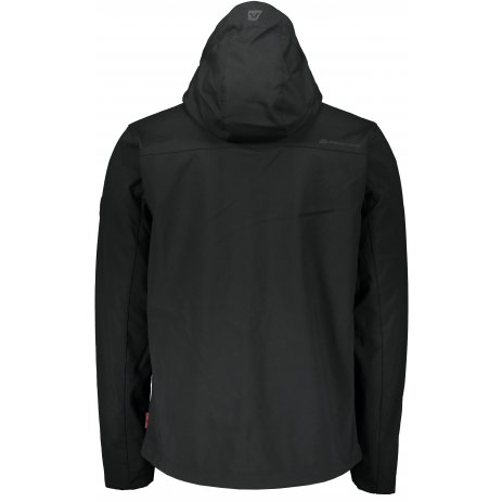 Pánská softshellová bunda ALPINE PRO NOOTK 7 MJCS436 ČERNÁ