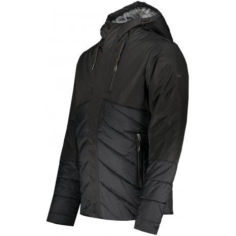 Pánská zimní bunda ALPINE PRO GABRIELL 4 MJCS433 ČERNÁ