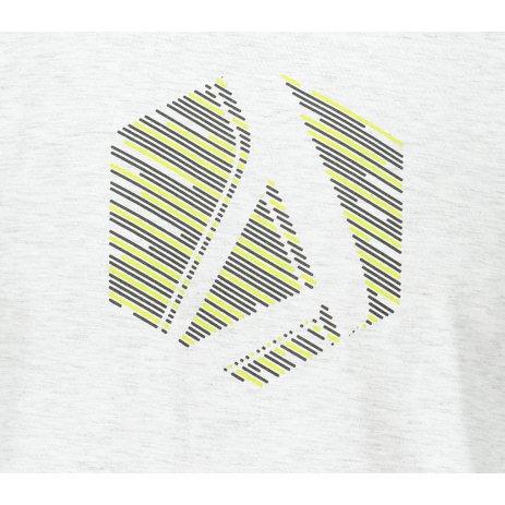 Pánské triko ALTISPORT ALM033129 SVĚTLE ŠEDÝ MELÍR