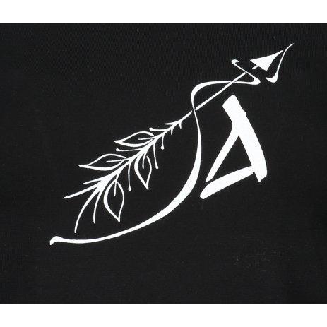 Dámské triko ALTISPORT ALW030F61 ČERNÁ