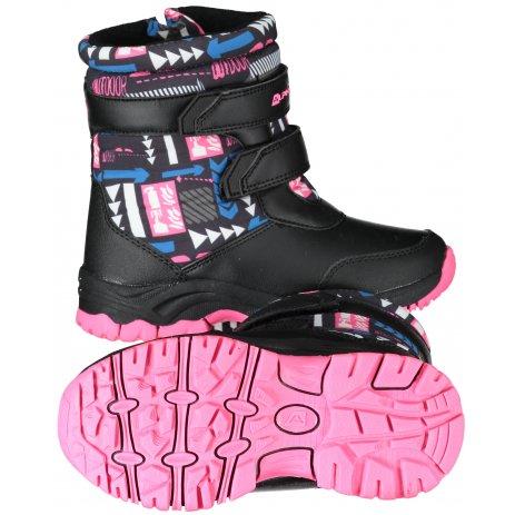 Dětské zimní boty ALPINE PRO VOLOSO KBTS260 RŮŽOVÁ