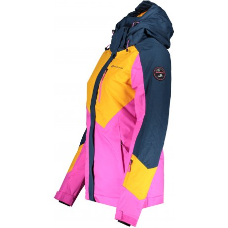 Dámská lyžařská bunda ALPINE PRO SARDARA 4 LJCS425 ŽLUTÁ