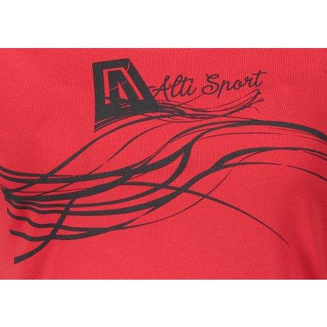 Dámské triko ALTISPORT ALW018F61 ČERVENÁ