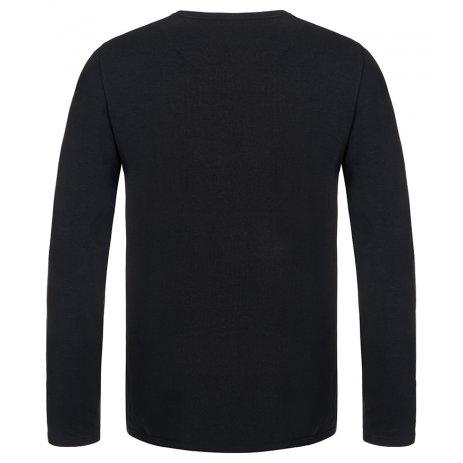 Pánské triko LOAP ALBERT CLM2071 ČERNÁ