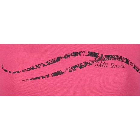 Dámské triko s dlouhým rukávem ALTISPORT ALW001169 MALINOVÁ