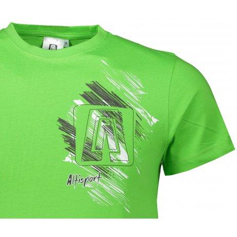 Pánské triko ALTISPORT ALM032129 APPLE GREEN