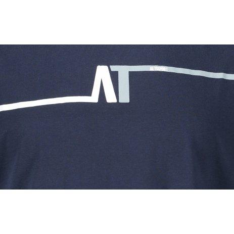 Pánské triko ALTISPORT PARED TMAVĚ MODRÁ