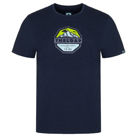 Pánské triko LOAP ALTAIR CLM2076 MODRÁ