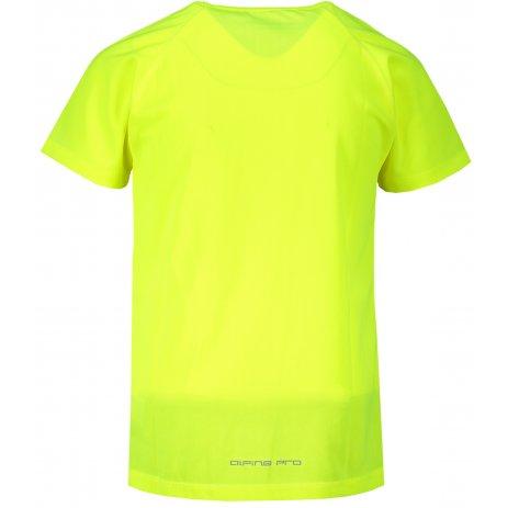 Dětské funkční triko ALPINE PRO BELAMO KTSS323 SVÍTIVĚ ZELENÁ