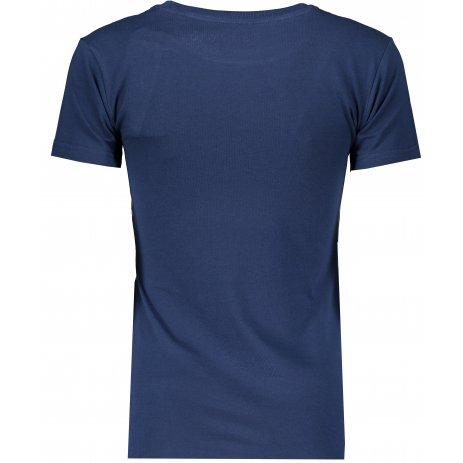 Dámské triko ALPINE PRO TIANA LTSS664 TMAVĚ MODRÁ