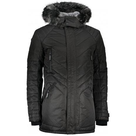 Pánská zimní bunda ALPINE PRO ICYB 6 MJCS432 ČERNÁ
