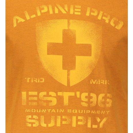 Pánské triko ALPINE PRO DRACH MTSS564 ŽLUTÁ
