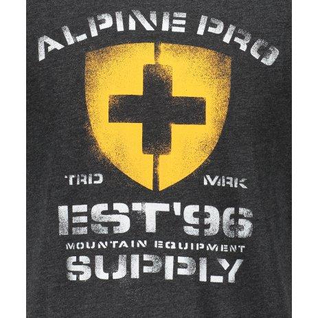 Pánské triko ALPINE PRO DRACH MTSS564 ČERNÁ