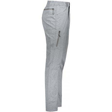 Pánské softshellové kalhoty ALPINE PRO TIMER MPAS463 ŠEDÁ