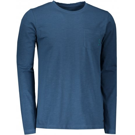 Pánské triko s dlouhým rukávem ALPINE PRO MEGAN MTSS528 MODRÁ