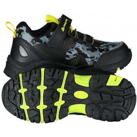 Dětské boty ALPINE PRO VATO KBTS265 ČERNÁ