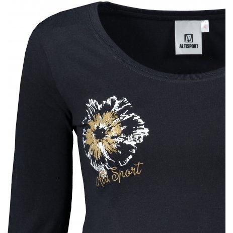 Dámské triko ALTISPORT ALW016169 NAVY
