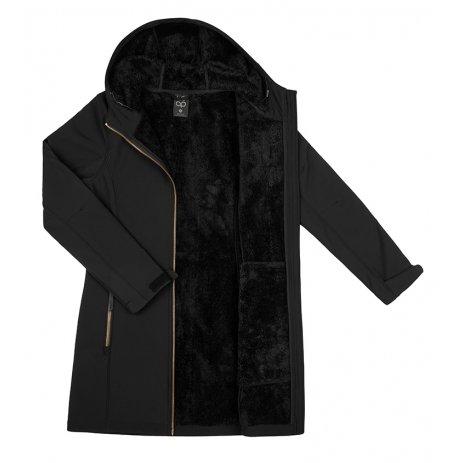 Dámský softshellový kabát LOAP LYWIENA SFW2014 ČERNÁ
