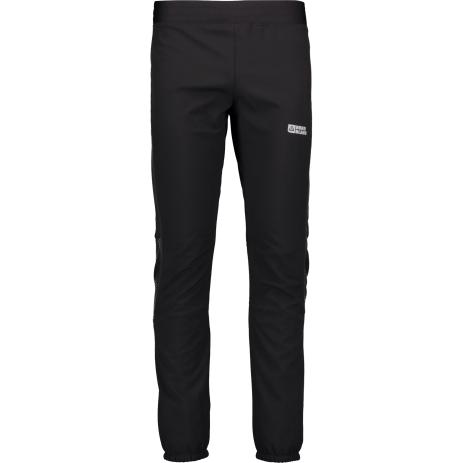 Pánské softshellové kalhoty NORDBLANC INTENSIVE NBWPM4567 CRYSTAL ČERNÁ