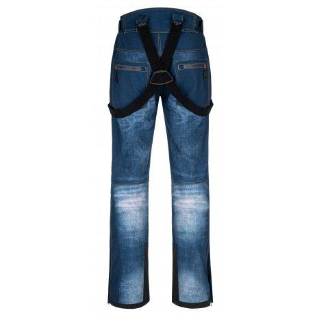 Pánské softshellové kalhoty KILPI JEANSO-M NM0034KI MODRÁ