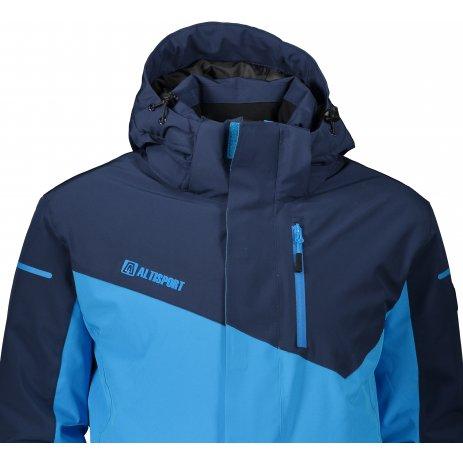 Pánská lyžařská bunda ALTISPORT ITAN MODRÁ