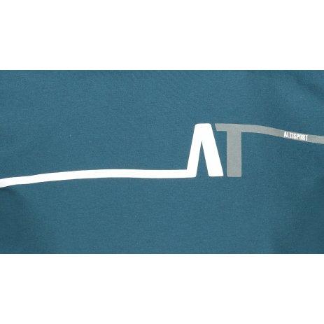 Pánské triko ALTISPORT ALM037129 PETROLEJOVÁ