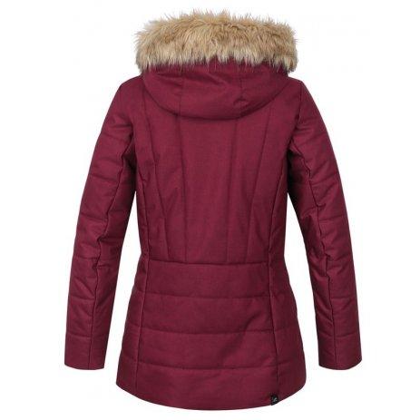 Dámská zimní bunda HANNAH OMAHA PURPLE MEL