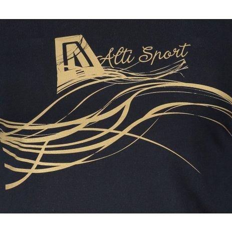 Dámské triko ALTISPORT ALW018169 NAVY/ZLATÁ