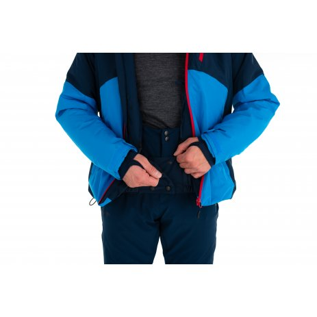 Pánská lyžařská bunda KILPI TAUREN-M NM0035KI MODRÁ