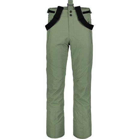 Pánské lyžařské kalhoty NORDBLANC DEVODED NBWP7329 ZELENÁ