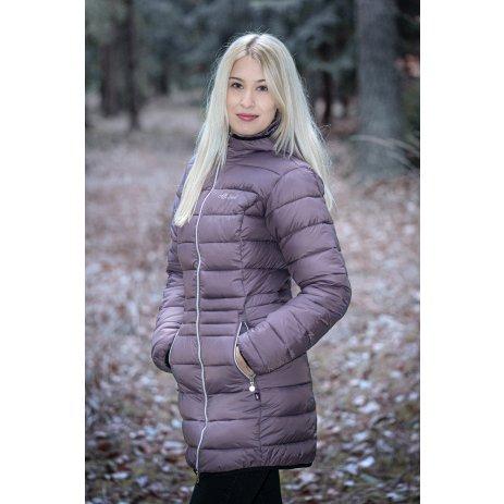 Dámský kabát ALTISPORT COBACA DARK VIOLET